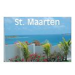 St. Maarten Seascape-1 Postcards (Package of 8)