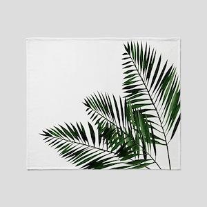 Tropical Aloha Summer Feeling Throw Blanket