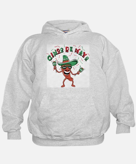 Cinco de Mayo Chili Pepper Hoodie