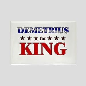 DEMETRIUS for king Rectangle Magnet