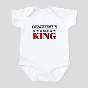 DEMETRIUS for king Infant Bodysuit