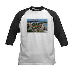St. Maarten-Downtown by Khonc Kids Baseball Jersey