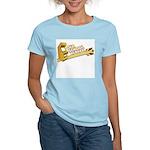 Old School Player Women's Pink T-Shirt