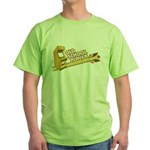 Old School Player Green T-Shirt