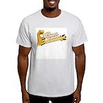 Old School Player Ash Grey T-Shirt