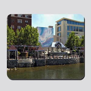 Reno Riverwalk on the Truckee Mousepad