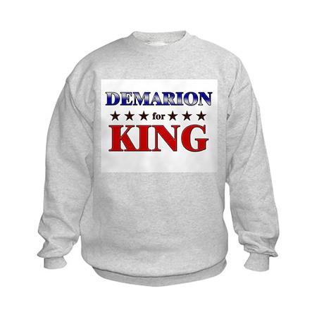 DEMARION for king Kids Sweatshirt