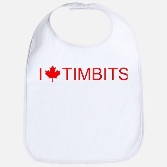 I love Timbits Bib