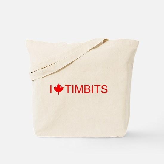 I love Timbits Tote Bag