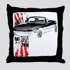 Miata Japan 1st Gen Throw Pillow
