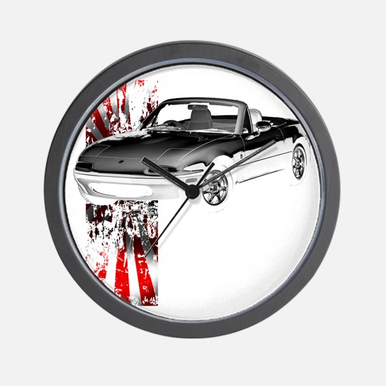 Miata Japan 1st Gen Wall Clock