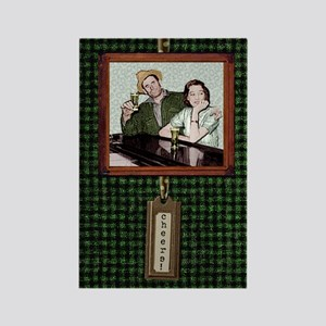 cheers - bar couple Rectangle Magnet