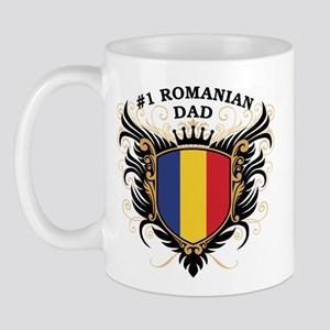 Number One Romanian Dad Mug