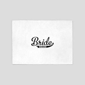 Bride Squad 5'x7'Area Rug