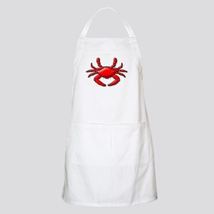 """Red Crab"" BBQ Apron"