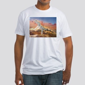 Mali Uromastyx:Inage Fitted T-Shirt