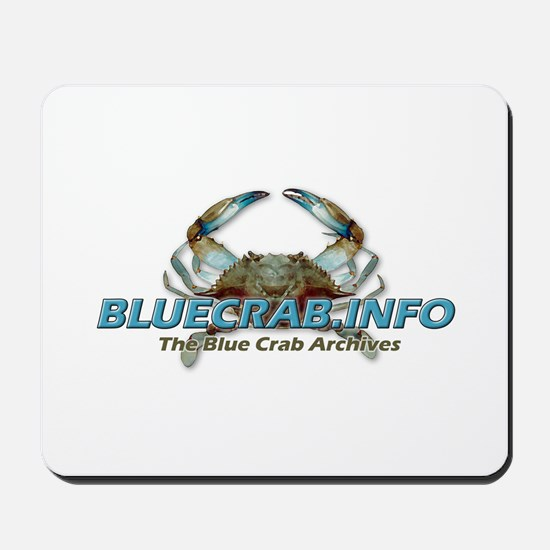 Cute Blue crabs Mousepad