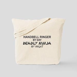 Handbell Ringer Deadly Ninja Tote Bag