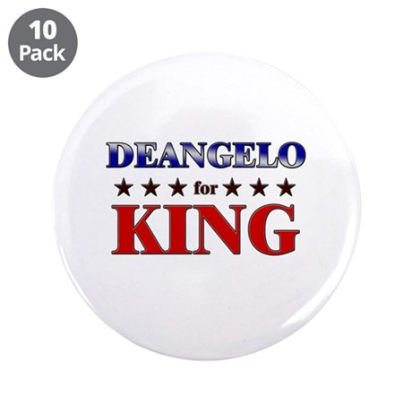 "DEANGELO for king 3.5"" Button (10 pack)"