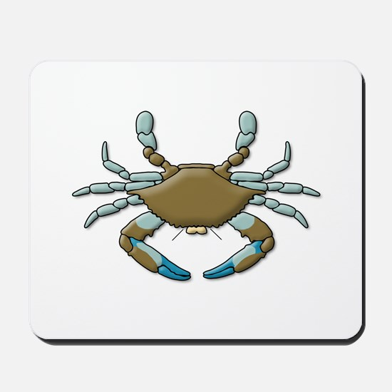 Unique Blue crabs Mousepad