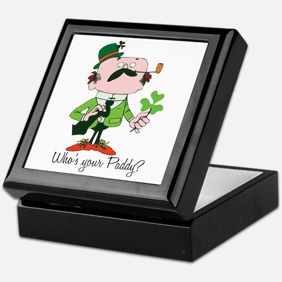 Who's Your Paddy? Keepsake Box