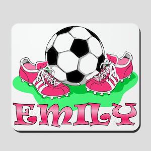 Girl Soccer (Emily) Mousepad