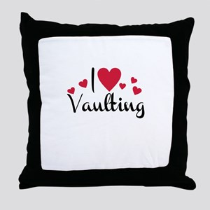 vaulting Throw Pillow