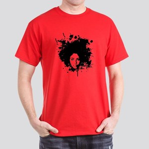 Red 'Fro Tee