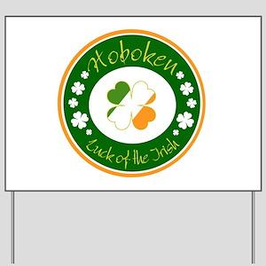 Luck of the Irish (Hoboken) Yard Sign
