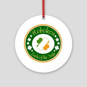 Luck of the Irish (Hoboken) Ornament (Round)