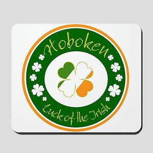 Luck of the Irish (Hoboken) Mousepad
