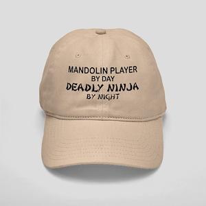 Mandolin Player Deadly Ninja Cap