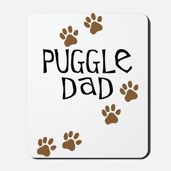 Puggle Dad Mousepad