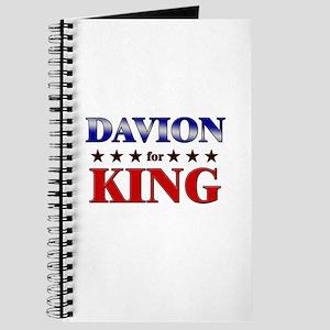 DAVION for king Journal