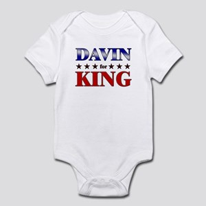 DAVIN for king Infant Bodysuit