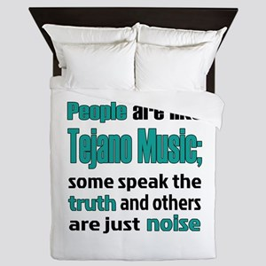 People are like Tejano Queen Duvet