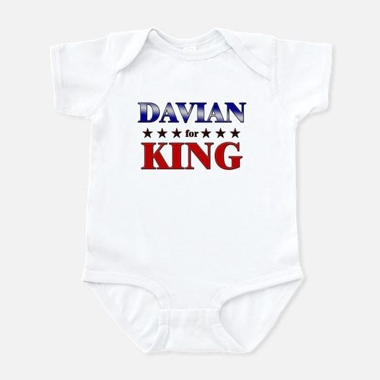 DAVIAN for king Infant Bodysuit