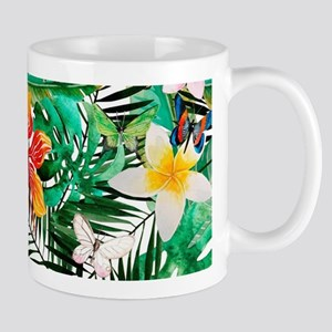 Tropical Aloha Jungle Pattern Mugs