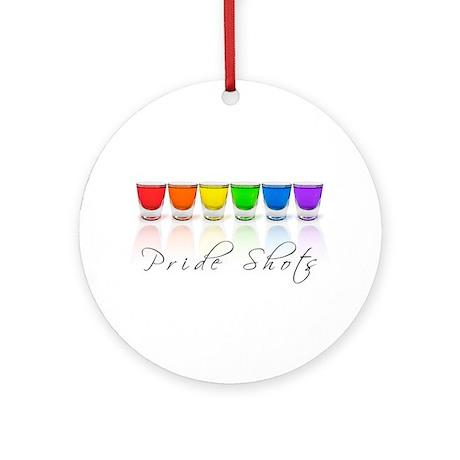pride shots Ornament (Round)