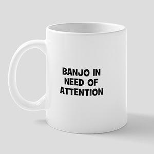 Banjo in need of attention Mug
