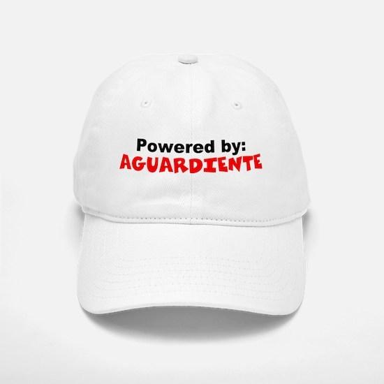 Powered by Aguardiente Baseball Baseball Cap
