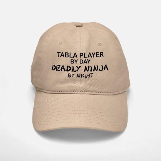 Tabla Player Deadly Ninja Baseball Baseball Cap