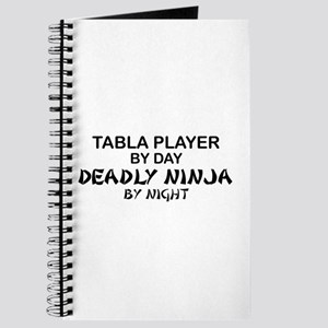 Tabla Player Deadly Ninja Journal