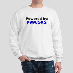 Powered by Pupusas Sweatshirt