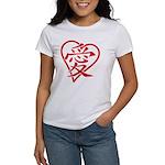 China red heart Women's T-Shirt