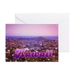 Hawaii 1982 Greeting Card