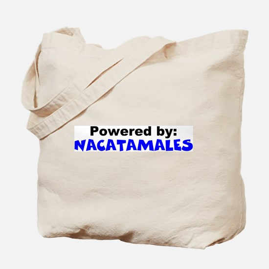 Powered by Nacatamales Tote Bag
