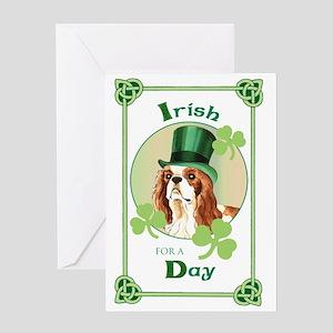St. Patrick Cavalier Greeting Card