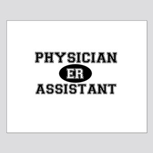 ER Physician Assistant Small Poster