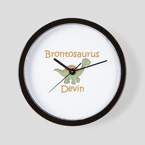 Brontosaurus Devin Wall Clock